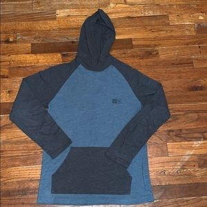 RVCA hooded long sleeve